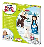 FIMO kids ModellierSet Form Play ´Snow princess´, Level 2