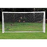 Fußballnetz für Tore Fußballtor-Ersatznetz in voller Größe für Fußball ( Abmessung : 6*4 )