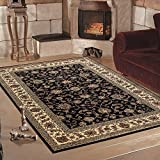 Klassiche orient Teppiche für Wohnzimmer, Esszimmer, Gästezimmer,kurzflor gemustert orient...