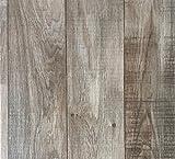 PVC-Bodenbelag Holzoptik | Muster | in Hellbraun | Vinyl-Fußbodenbelag in verschiedenen Maßen...