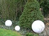 Sonderangebot: Hochwertige Außenleuchte Kugelleuchte Marlon 3er Set (20+30+40cm) Gartenleuchte...