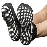 Skyba Anti Rutsch Socken Stoppersocken Noppensocken für Damen- Grips für Barre, Pilates, Yoga,...
