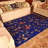 European Pastoral Style Teppich Couchtisch Schlafsofa Bedside Blanket Blue ( größe : 140×200cm )