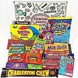 American Candy Geschenkkorb | Retro Süßigkeiten und Schokolade Geschenkkorb | Reeses, Baby Ruth,...