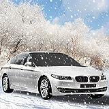 Winterabdeckung Scheibenabdeckung Eisschutz, Ubegood Scheibenabdeckung Auto Winter Anti-Frost Auto...