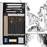 Towinle Bleistift Set, 30-teilige Skizzieren Zeichnen Stifte Bleistifte zum Skizzieren und Zeichnen...