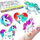 German Trendseller® - Einhorn Tattoos Set ┃ NEU ┃ Einhorn Party ┃ Kindergeburtstag ┃...
