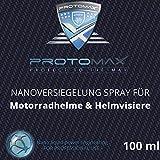 PROTOMAX Nanoversiegelung-Spray fürs Motorrad: Motorradhelme, Helmvisiere, Integralhelme & Visiere...