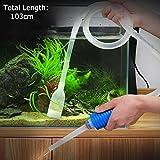 103 cm Aquarium Manuell Reinigungssiphon Kies Saugleitung Filter Vakuum Wasser Pumpe Werkzeug