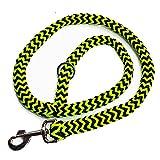 Geflochtene Hundeleine 1m für mittelgroße und große Hunde rund Durchmesser 15mm Führleine...