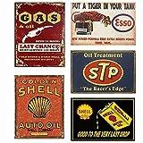 Easy Painter Metallschilder für Garage Man Cave, Motoröle, dekorative Metallschilder, Kunst,...