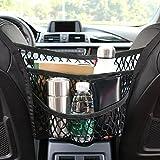 Auto Netz, Auto Gepäcknetz, Schutznetz und Organizer Tasche Halter, 2D Schnallen und 2Haken, 3...