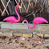 Sharplace Dekofigur Flamingo aus Kunststoff - #1