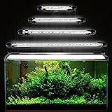 GreenSun Aquarium LED Beleuchtung Leuchte Lampe 15 LEDs 5050SMD 28CM Lighting für Fisch Tank EU...