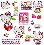 15 tlg. Set _ Fensterbilder - ' Hello Kitty ' - Sticker Fenstersticker Aufkleber - selbstklebend +...
