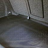 Kofferraum Antirutschmatte Gummimatte 1,20 x 2,00m (Pyramidenmatte), Farbe: schwarz,...