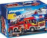 PLAYMOBIL 5362 - Feuerwehr-Leiterfahrzeug mit Licht und Sound