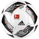 adidas Erwachsene Dfl Competition Fußball, White/Black/Solar Red, 5