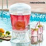 innovagoods Getränkespender-Kühlmittel, PMMA, 23x 23x 40cm
