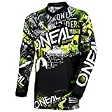 O'Neal Element Attack Motocross Kinder Jersey Trikot MX Enduro Offroad Gelände Quad Cross Youth,...