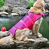 Hundeschwimmweste Rettungsweste Schwimmtraining für Hunde, Wassersport, Schwimmweste...