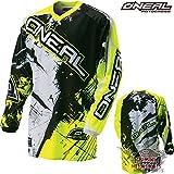 Oneal Shirt Jersey Trikot MX Motocross Fahrrad MTB Mountainbike Enduro Offroad Oberteil (S, neon...