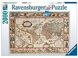 Ravensburger Puzzle 2000 Teile Weltkarte, antik 16633