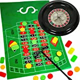 German Trendseller® - Roulette Spiel - NEU- ┃ Komplett - Set mit Roulettrad ┃ Casino ┃ Las...
