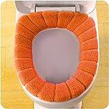 sunnymi Pumpkin Universal WC Sitzkissen/Bequeme Samt Korallen Toilettensitzabdeckung Standard...