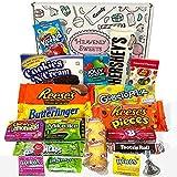 Amerikanische Süßigkeiten Geschenkkorb von Heavenly Sweets | Süßigkeiten aus den USA | Auswahl...