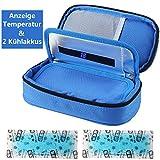 Insulin kühltasche Diabetiker Tasche Medikamenten Kühltasche für Diabetikerzubehör mit...