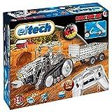 Eitech 00023 - Metallbaukasten 'RC Traktor mit Anhänger', 2.4 GHz