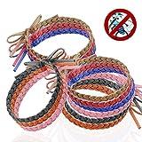 Austor 12 Stück Mückenschutz Armband Anti Mücken Insekte Armband Natürlicher Insektenschutz ohne...