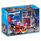 Playmobil 9052 City Action Feuerwehr Mega Set mit Pumpe
