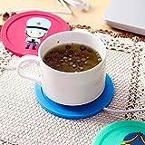 chauffe-café (Schnitt nicht inklusive) Isolierung Kaffee USB Thermometer Elektrische Silikon Matt...