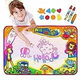 EpochAir Kids Baby Toddler Wasser Zeichnen Aqua Doodle Matte Toy mit 2 Stiftes, 1 Bürste und...