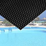 Pool Solarfolie 5x8m schwarz Poolabdeckung Solarplane Poolheizung