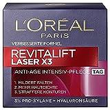 L'Oreal Paris Revitalift Laser X3 Tagespflege mit Hyaluronsäure, mildert Falten und strafft die...