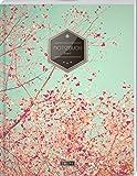 "TULPE Liniertes Notizbuch A4 ""C032 Frühlingstraum"" (140+ Seiten, Vintage Softcover, Doppelrand,..."