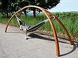 DEMA Hängemattengestell HMG 350 Holz 'Brücke'