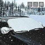 AUTSCA Scheibe Abdeckung Frontscheibe Abdeckung Auto Windschutzscheibe Schneeabdeckung,...