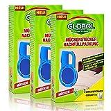 3x Globol Mückenstecker Nachfüllpackung - Wirkt 45 Nächte ohne nachzufüllen