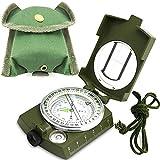 Militär Marschkompass Professioneller Taschenkompass Peilkompass Kompass Compass mit Klinometer...