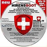 Notfall-CD für Windows Betriebssysteme inkl. Windows PE Umfangreicher 'Erste Hilfe Koffer an...