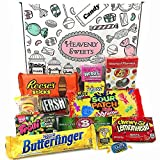 Kleiner Amerikanische Süßigkeiten Geschenkkorb von Heavenly Sweets | Süßigkeiten aus den USA |...