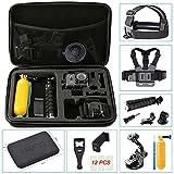 Hieha 23 in 1 Zubehör Set Action Kamera Zubehör Kit für GoPro Hero Session 1 2 3 3+ 4 5 SJ4000...