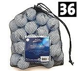 BD 36er Pack Golfbälle 2 Layer Weiß Netz