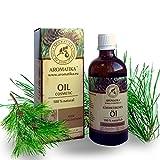 Haaröl rein natürlich, Haare Öl mit naturreinem 100 % Jojobaöl, Traubenkernöl, Zedernholzöl,...