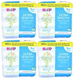 16x 52 Stück HiPP Babysanft Feuchttücher - Ultra Sensitiv - Art.Nr.: DA90001 - Exclusives EVENTpac...