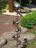 Gartenstecker ST200 Rost Skulptur Rostdeko Edelrost Roststeelen Deko Garten